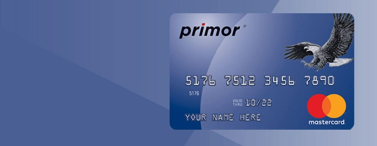 Photo of Premier Low Fixed Interest And No Penalty Fee Secured Card Primor Secured Visa Gold