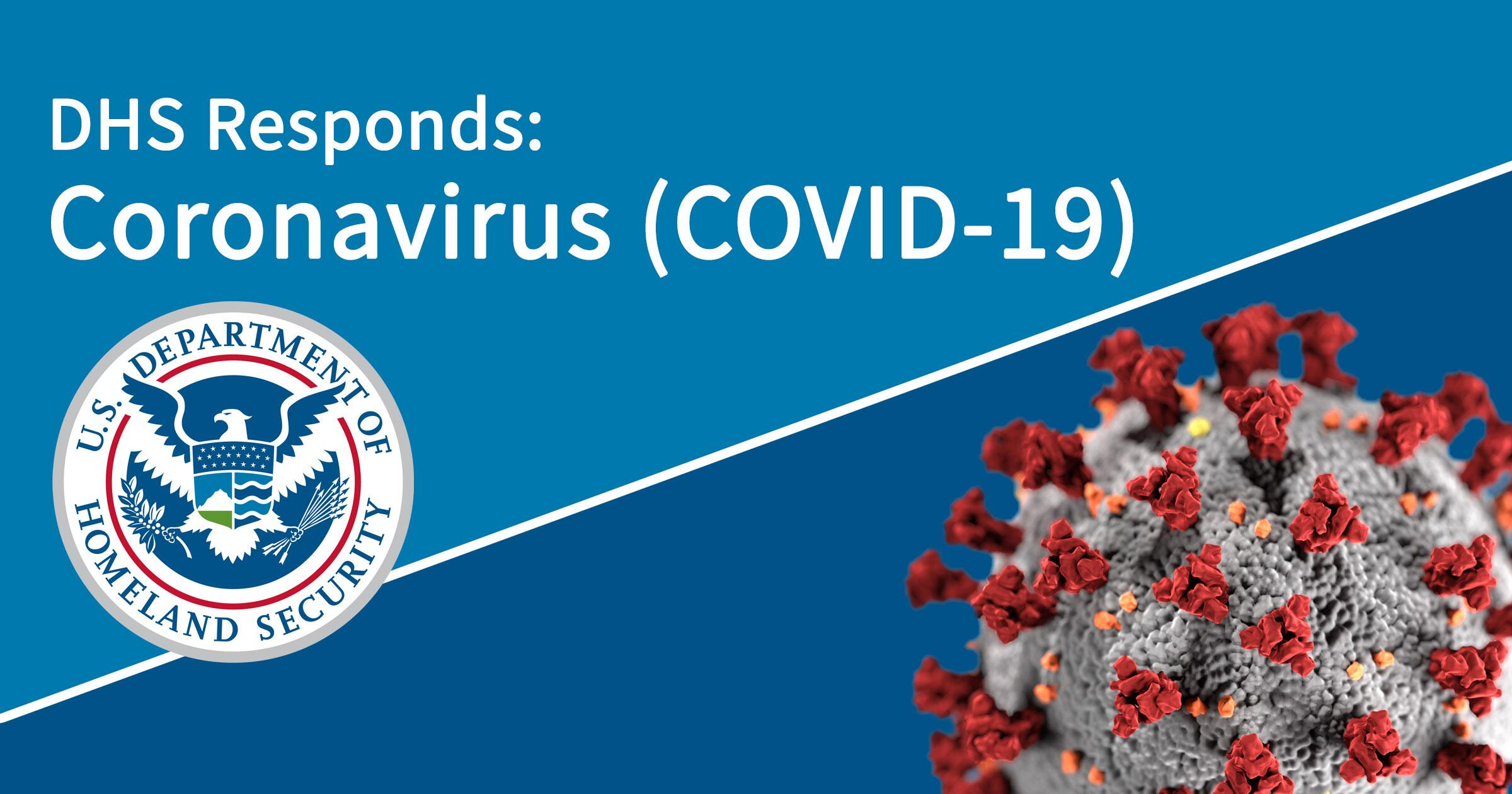 Photo of Department of Homeland Security Response to Coronavirus