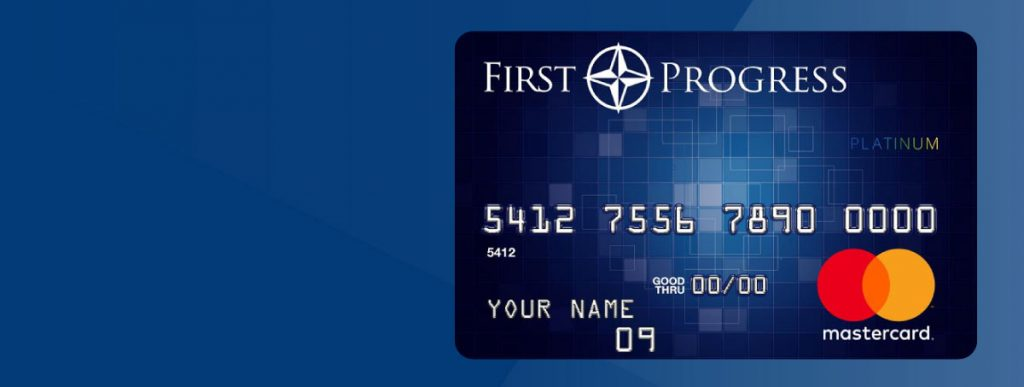 Avoid Credit Check & Re-establish New Credit With First Progress Platinum MasterCard