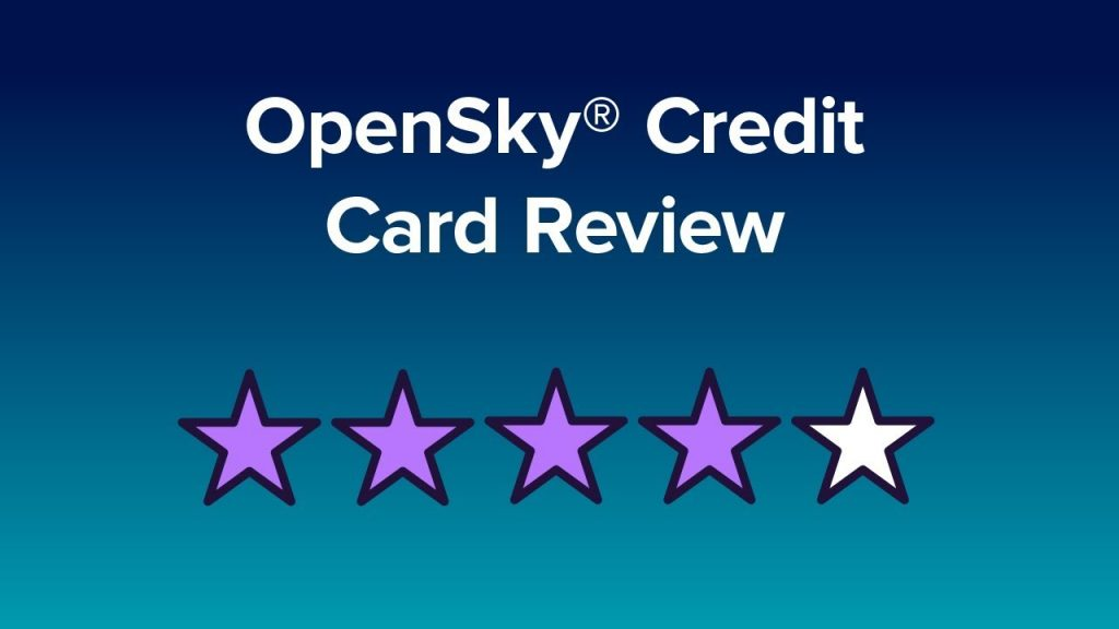 Rebuild Your Credit In 6 Months Or Less With The OpenSky Secured Credit Visa Card